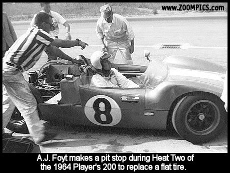 A.J. Foyt and the Scarab
