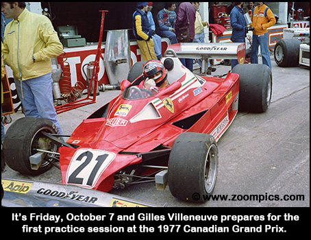 Gilles Villeneuve and the Ferrari 312T-2
