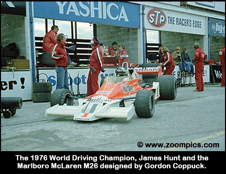 James Hunt and the McLaren M26