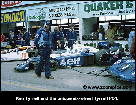 Ken Tyrrell and the Tyrrell P34